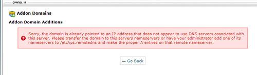 add-on-domain-error